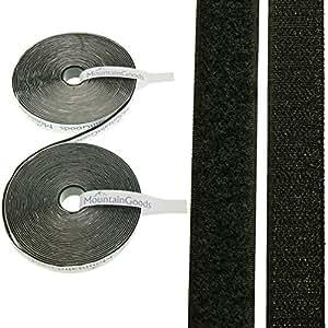 10m klettband selbstklebend extra stark in wei und schwarz 20mm breit qualit t von. Black Bedroom Furniture Sets. Home Design Ideas