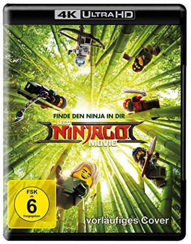 The LEGO Ninjago Movie - Ultra HD Blu-ray [4k + Blu-ray Disc]