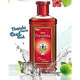Navratna Emami / Himani Navratna Ayurvedic Herbal Hair (MultiPuRP Accessoriesose) Oil 200ml by Himani by Navratna Hair Oil /