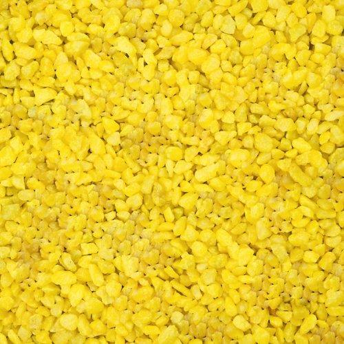 Deco Granulat, 1000Gramm–Gelb (Künstliche) - 2