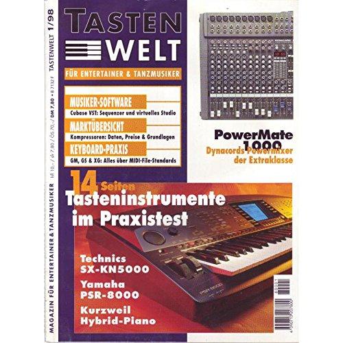 Tastenwelt Ausgabe 01 1998