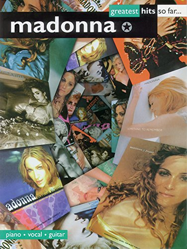 Madonna: Greatest Hits So Far: (Piano, Vocal, Guitar)