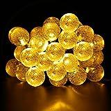 Valuetom Lichterketten 10M 80 LED 2 Modi Lichter Batterie Betrieben Deko Lichter für Weihnachten Hausgarten Geburtstagsparty Hochzeit Festival Innen und Außen