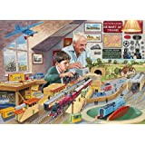Gibsons Grandad's Attic Jigsaw Puzzle (1000 Pieces)