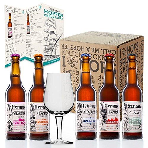 Die Hopfenkreuzfahrt inkl. Sensorikglas - Craft Beer Box