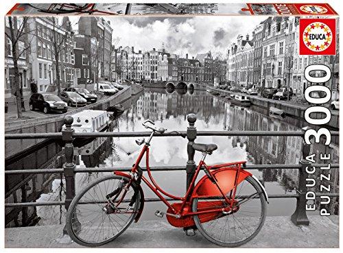 Puzzles Educa - Amsterdam, puzzle de 3000 piezas (16018)