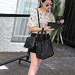 Handbag, Shoulder Bags,TUDUZ Women Fashion Casual Four Set tassel Handbag Shoulder Bags Four Pieces Tote Bag Messenger… 15