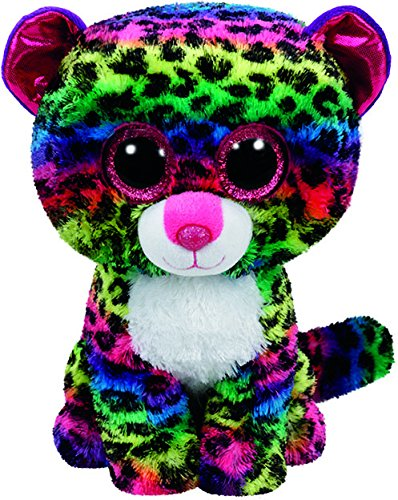 Beanie Boo Leopard - Dotty - Multicoloured - 15cm 6""