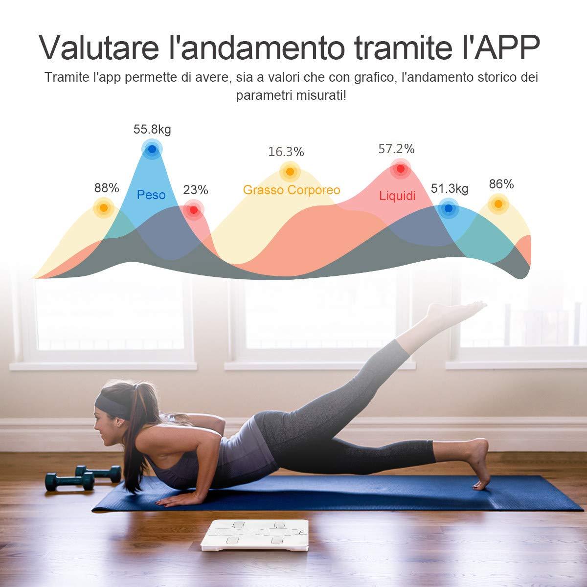 iteknic bilancia impedenziometrica  Bilancia Impedenziometrica iTeknic Bilancia Pesapersone ...