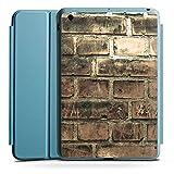 Apple iPad Mini 4 Smart Case hellblau Hülle Tasche mit Ständer Smart Cover Steine Stones Steinwand