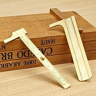 Amazingdeal 365 Messung der Mini - Messing - tool Tasche Vernier Calip Rutschen.