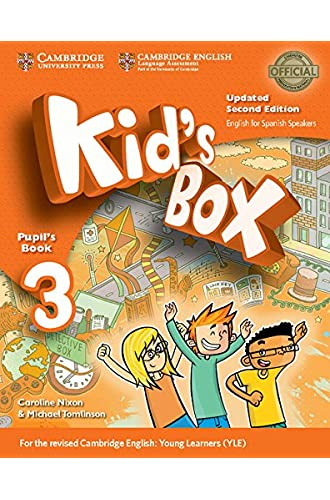 Kid's Box Level 3 Pupil's Book Updated English for Spanish Speakers Second Edition