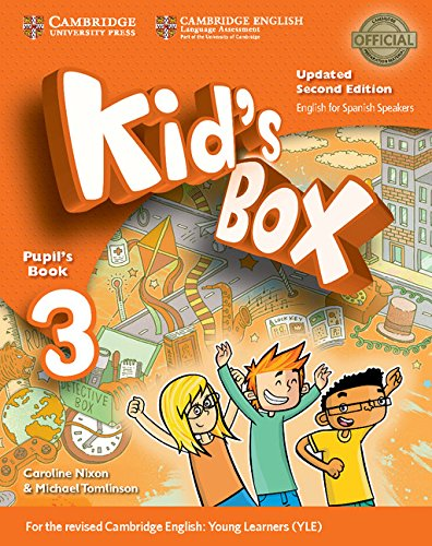 Kid's Box Level 3 Pupil's Book Updated English for Spanish Speakers Second Edition - 9788490360828 por Caroline Nixon