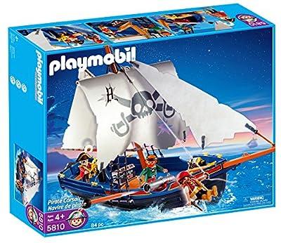 Playmobil 5810 - Piratas: barco corsario por Playmobil