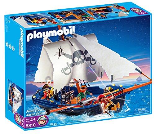 Playmobil Piratas - Barco corsario (5810)