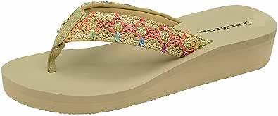 New Ladies Eva Toe Post Flip Flop Womens Pool Beach Slipper Water Proof Shoes