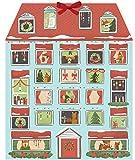 Forest Friends Christmas House Calendar