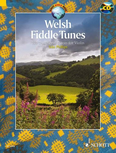 Welsh fiddle tunes +CD (97 airs traditionnels gall...