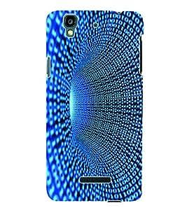 Fuson 3D Printed Pattern Designer Back Case Cover for Yu Yureka Plus - D999