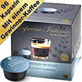 Espresso Intenso - 96 Dolce Gusto kompatible Kapseln (6er-Pack mit 96 Kapseln)