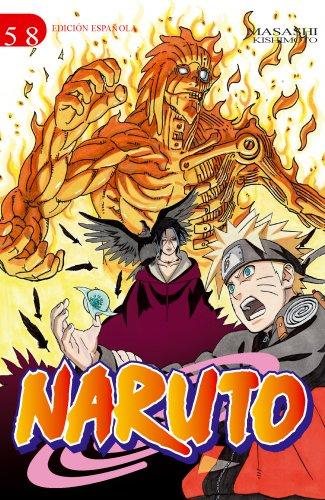 Naruto nº 58/72 (EDT) por Masashi Kishimoto