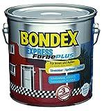 Bondex Express Farbe Plus Farbton Moosgrün 568 / seidenglänzend / 5 Liter / Wetterschutzfarbe / Dauerschutzfarbe