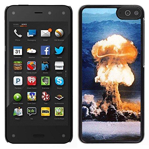 STPlus Bomba atómica nuclear hongo de humo de la bomba Carcasa Funda Rigida Para Amazon Fire Phone