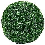 Decovego Buchsbaum Kugel Künstliche Pflanze Buxus Deko Innen und Aussen 8-55 cm Durchmesser, Durchmesser:45 cm