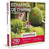 SMARTBOX - Coffret Cadeau - ECHAPPÉE DE CHARME ET SAVEURS - 290 séjours : maisons d'hôtes, hôtels 3*, châteaux