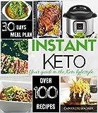 #6: INSTANT KETO!: KETO ELECTRIC PRESSURE COOKER COOKBOOK, KETO MEAL PLAN (Keto for beginners)