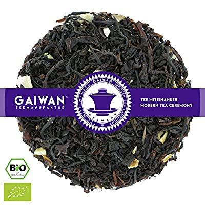 """N° 1203: Thé noir bio """"Orange"""" - feuilles de thé issu de l'agriculture biologique - GAIWAN® GERMANY - thé noir d'Assam, Nilgiri, orange"""