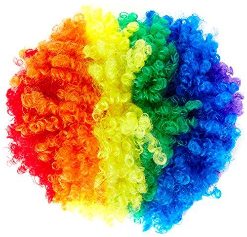 Carnival Toys 2347 - Perücke Rainbow, bunt