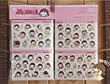Lumanuby 20x Mädchen Aufkleber DIY Dekoration PVC Sticker für Notebooks/Laptop/Kalender, Aufkleber Serie Size 9 * 6.5cm