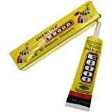 DHRUV-PRO Multi-Purpose Transparent Adhesive Glue for Jewelry, Resin Crafts, Glass Touch Screen Repair (Yellow) -50 ml