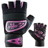 C.P. Sports Profi-Grip-Bandagen-Handschuh Fitness-Handschuh pink XS
