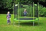 Hudora Trampolin Familien 300 cm  – grün - 2