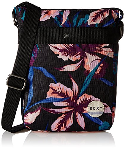 Roxy Having Fun J PRHB - Borsa, Donna, Handtasche HAVING FUN J PRHB, True Black  Maui Lights, Taglia unica