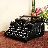 GFEI fatto a mano di ferro dell'artigianato/finestra imposta decorazione/retro vecchio modello di macchina da scrivere