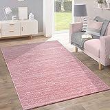 Teppich Kurzflor Modern Trendig Pastellfarben Design Meliert Inspiration Pink,...