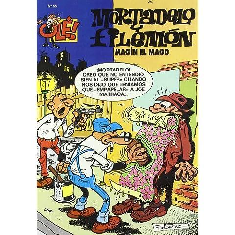 Ole Mortadelo Y Filemon 55 - Magin El Mago (Ole Mortadelo (bediciones))