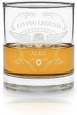 Geschenkidee.de Whisky Glas mit Gravur