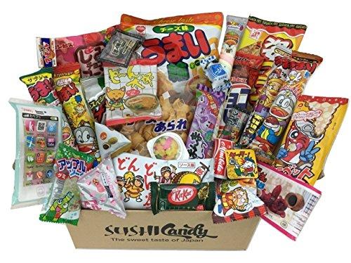 30 Japanische Süßigkeit Geschenke DAGASHI set süss Sortiment mit japanische kitkat - Candy Kit