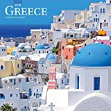 Greece - Griechenland 2019 - 18-Monatskalender mit freier TravelDays-App (Wall-Kalender)