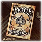 Carte da poker Bicycle - Vintage serie 1800 - Dorso blu segnato