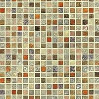 Multi Color Mosaico con baldosas patrón Contacto Papel autoadhesivo peel-stick baño impermeable cocina Papel pintado de vinilo