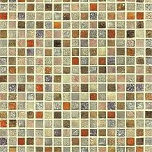Multi Color azulejos mosaico patrón Contacto Papel autoadhesivo peel-stick vinilo papel pintado baño impermeable cocina