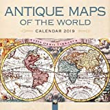 Antique Maps of the World – Antique Karten der Welt 2019 (Wall-Kalender)