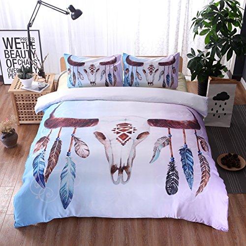 THEE Indien Bettwäsche set Bettbezug mit Kissenbezug