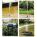 Solar Springbrunnen Teichpumpe für Garten;Solarbatterie Brunnen und pumpen mit Monokristalline Solar Panel für Gartenteich von Amasawa - Du und dein Garten