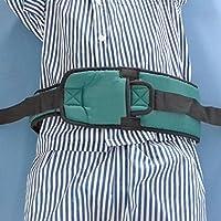 Cuidado Roll Cinturón restricciones bandas de restricción de cama y silla de ruedas (Army Green)